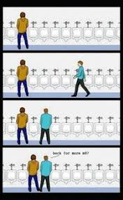 Urinal Checkmate Meme - urinal etiquette image gallery sorted by oldest know your meme
