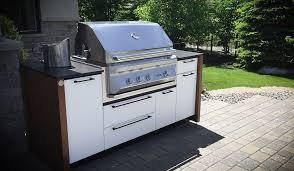 grille d a ation cuisine cuisines extérieures et cuisines d été sur mesure station grill