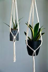 hanging plant stands indoor best planters ideas on planter