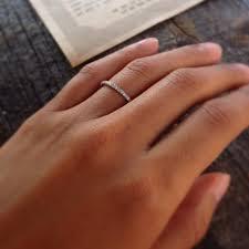thin wedding bands wedding band ultra thin with diamonds wedding engagement