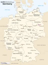 Map Of Canada Cities And Provinces by Germany Political Map Amazing Of German Provinces Thefoodtourist