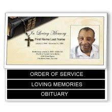 create funeral programs funeral order of service program template frame designs allison
