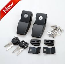 jeep wrangler lock aliexpress com buy black locks catches latches kits for