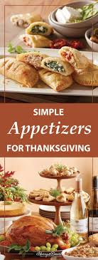 thanksgiving appetizers to a crowd
