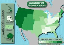 Humboldt State University Map by Destinee Mcguire