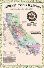 california map national parks map of state parks 5 california system to world maps