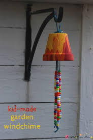 kid craft idea homemade garden wind chime a sweet gift and a
