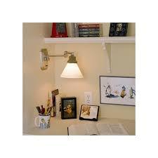 Brushed Nickel Headboard Brushed Nickel Swing Arm Sconce Above A Desk Brass Light Gallery