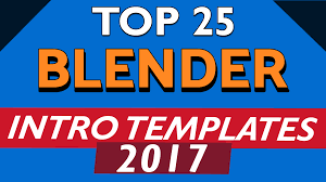 2d intro templates for blender top 25 free intro templates blender only 2017 2d 3d gaming fast