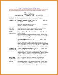 Objective To Resume Nursing Graduate Resume Resume For Your Job Application