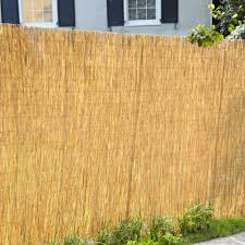 Decorative Fence Panels Home Depot by Outdoor Great Bamboo Fence Roll For Home Fence Idea