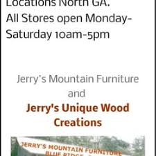 Jerrys Mountain Furniture Furniture Stores Blue Ridge GA - Blue ridge furniture