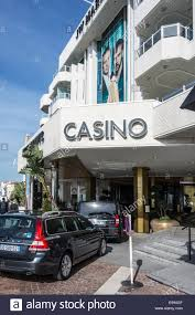 entrance of casino of the jw marriott cannes hotel french riviera