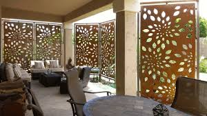 Screen Ideas For Backyard Privacy Contemporary Outdoor Patio Privacy Screens Ideas Parchitectural