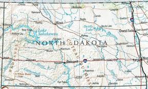 beulah dakota map dakota reference map