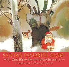 santa u0027s favorite story santa tells the story of the first