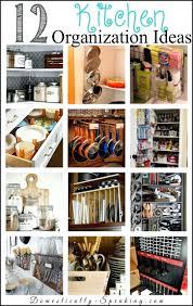 kitchen shelf organizer ideas shelves organization kitchen shelves
