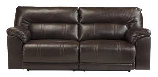 Buy Ashley Furniture Barrettsville DuraBlend Chocolate Reclining