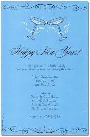 happy new year invitation new year s invitations