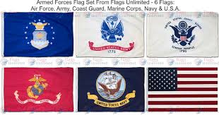 Army Flag Pictures Amazon Com Armed Forces 6 Flag Set 3 Ft X 5 Ft Garden U0026 Outdoor