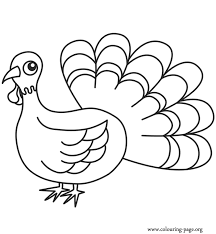 thanksgiving symbol of thanksgiving coloring page