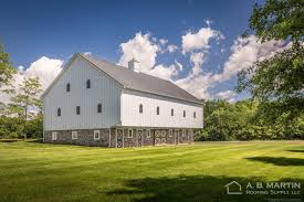 1800 u0027s historical barn with textured standing seam a b martin