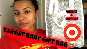 target baby registry gift bag freebies u0026 coupons youtube