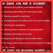 Don Aslett Doormat How To Stop Being A Doormat Ronikugler Definition Of A Doormat
