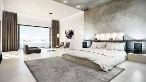 Concrete Ceiling Concrete Finished Modern Bedroom U2013 Viscato
