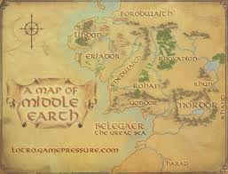 map from lord of the rings middle earth map the lord of the rings shadows of angmar