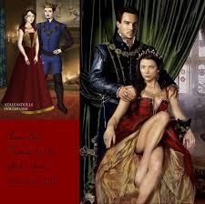 tudor king queen anne boleyn and king henry tudor the 8th by