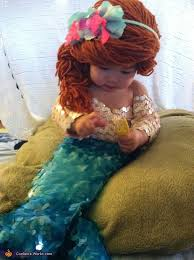 Baby Duck Halloween Costume Ariel Mermaid Baby Costume Homemade Halloween