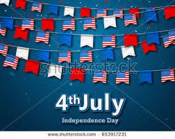 4th Of July Bunting Decorations Patriotic Bunting Stock Images Royalty Free Images U0026 Vectors