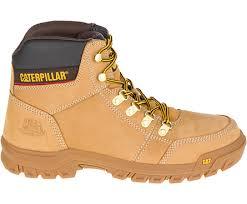 womens caterpillar boots size 9 outline work boot seal brown cat footwear