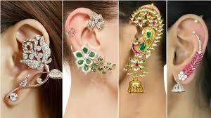 top earing ear cuff earrings collection 2017 top beautiful ear cuff