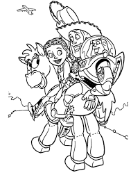 pictures toy story characters print kids coloring europe