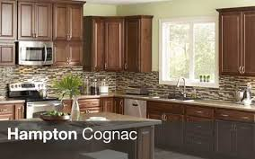 Image Result For Hampton Bay Cognac Cabinets Kitchen Reno - Cognac kitchen cabinets