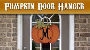pumpkin door decoration my wife makes a pumpkin door hanger scroll saw project cmrw 37