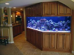furniture flawless fish tank room divider with tile flooring and