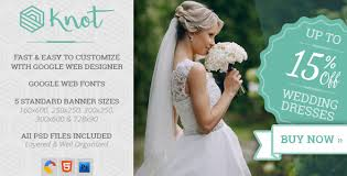 wedding sale knot wedding html5 ad template by wiselythemes codecanyon