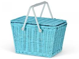 kids picnic basket azul piki kids basket by olli ella shop now