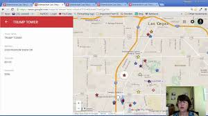 Las Vegas Hotel Strip Map by Interactive Las Vegas High Rise Condo And Mid Rise Luxury Condo