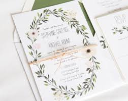 wedding invitations etsy wedding invitations paper company suite items by twigandjuniper