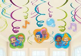 bubble guppies swirl decorations baxter distributing