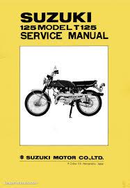 suzuki t125 service manual
