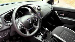 renault sandero stepway interior new dacia sandero stepway 2017 medianav evolution youtube