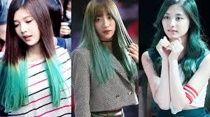 best female kpop idols that rock green hair youtube