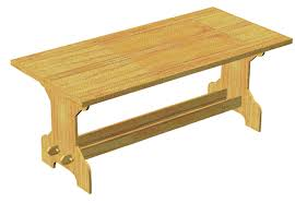 making a trestle table sca fold up table plans first person to make this table for me