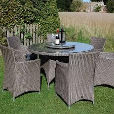 Kettler Garden Furniture Caredo Maze Rattan La 6 Seat Round Rattan Garden Furniture Set