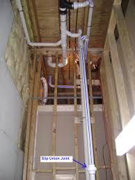 Finish Stairs To Basement by How To Finish A Basement Bathroom Sewage Basin Vent Pipe